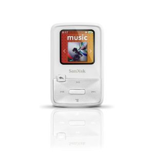SanDisk Sansa Clip Zip 4 GB Digital player / radio - White