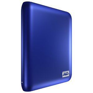 Western Digital My Passport Essential SE 1TB portable USB 3.0 and 2.0 drive (Metallic Blue)