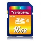 Transcend 16 GB SDHC Class 10 Flash Memory Card TS16GSDHC10E