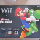 Wii Black Console with Super Mario Brothers Wii and Music CD
