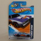 Hot Wheels 2012 HW Racing '71 Dodge Demon (blue)
