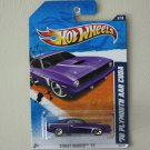 Hot Wheels 2011 Street Beasts '70 Plymouth AAR Cuda (purple - Walmart Excl Redline)