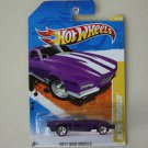 Hot Wheels 2011 New Models Blvd. Bruiser (purple - Walmart Excl Redline)