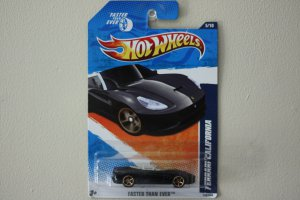 Hot Wheels 2011 Faster Than Ever Ferrari California (black)