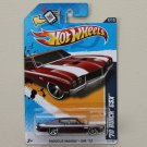 Hot Wheels 2012 Muscle Mania GM '70 Buick GSX (burgundy)