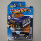 Hot Wheels 2012 HW Performance Baja Breaker (blue - Walmart Excl Redline)