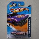 Hot Wheels 2012 HW Racing '71 Maverick Grabber (purple - Walmart Excl Redline)