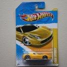 Hot Wheels 2012 HW Premiere Ferrari 458 Spider (yellow)