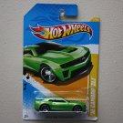 Hot Wheels 2012 HW Premiere '12 Camaro ZL1 (green)