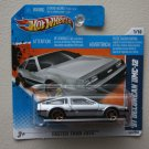 Hot Wheels 2011 Faster Than Ever &#39;81 DeLorean DMC-12 (silver)