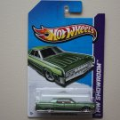 Hot Wheels 2013 HW Showroom '64 Lincoln Continental (green)