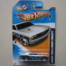 Hot Wheels 2012 Heat Fleet Dodge Challenger Concept (silver - Kmart Excl.)