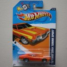 Hot Wheels 2012 Muscle Mania Ford '72 Ford Gran Torino Sport (orange - Walmart Excl.)