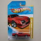 Hot Wheels 2012 New Models 1985 Chevrolet Camaro IROC-Z (red)