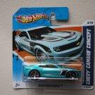 Hot Wheels 2011 Nightburnerz Chevy Camaro Concept (turquoise)