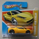 Hot Wheels 2010 HW Premiere Ferrari 458 Italia (yellow)