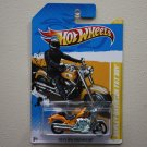 Hot Wheels 2012 HW Premiere Harley-Davidson Fat Boy (yellow)
