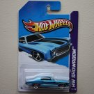 Hot Wheels 2013 HW Showroom '70 Monte Carlo (blue)