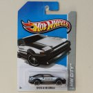 Hot Wheels 2013 HW City Toyota AE-86 Corolla (black)