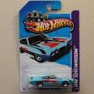 Hot Wheels 2013 HW Showroom '70 Pontiac GTO Judge (turquoise)
