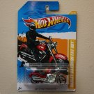 Hot Wheels 2012 HW Premiere Harley-Davidson Fat Boy (red)
