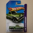 Hot Wheels 2013 HW Showroom Custom '69 Chevy Pickup (green)