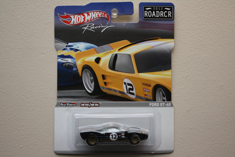 Hot Wheels Racing 2012 ROADRCR (Road Racer) Ford GT-40