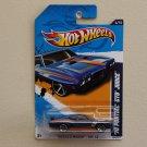 Hot Wheels 2012 Muscle Mania GM '70 Pontiac GTO Judge (blue)