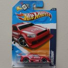 Hot Wheels 2012 HW Main Street Amazoom (red - Walmart Excl. Windshield Banner)