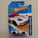 Hot Wheels 2012 HW Main Street '11 Corvette Grand Sport (white)