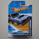 Hot Wheels 2012 Muscle Mania Mopar '68 HEMI Barracuda (blue)
