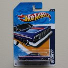 Hot Wheels 2012 Muscle Mania GM '62 Chevy (blue)