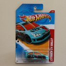Hot Wheels 2012 Thrill Racers City Stunt Citroen C4 Rally (turquoise)