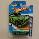 Hot Wheels 2012 HW City Works Custom '69 Chevy Pickup (green)