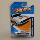 Hot Wheels 2012 HW Racing '70 Dodge HEMI Challenger (white)