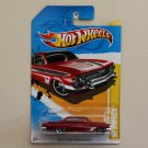 Hot Wheels 2012 HW Premiere '61 Impala (red)