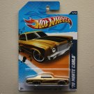 Hot Wheels 2012 Muscle Mania GM '70 Monte Carlo (gold)