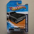 Hot Wheels 2012 HW Main Street '64 Lincoln Continental (black)
