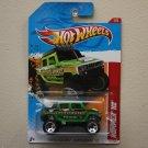 Hot Wheels 2012 Thrill Racers Earthquake Hummer H2 (green)