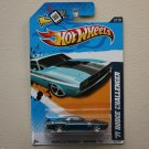 Hot Wheels 2012 Muscle Mania Mopar '71 Dodge Challenger (spectraflame blue) Super Treasure Hunt