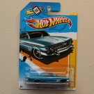 Hot Wheels 2012 New Models '61 Impala (blue)