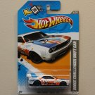 Hot Wheels 2012 HW Code Cars Dodge Challenger Drift Car (white)