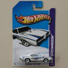 Hot Wheels 2012 HW Main Street '69 Pontiac GTO Judge (white)