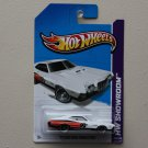 Hot Wheels 2013 HW Showroom '72 Ford Gran Torino Sport (white)