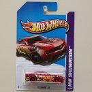 Hot Wheels 2013 HW Showroom '12 Camaro ZL1 (red) (solid red wheels variation)
