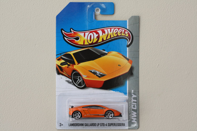 hot wheels 2013 hw city lamborghini gallardo lp 570 4 superleggera orange. Black Bedroom Furniture Sets. Home Design Ideas