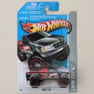 Hot Wheels 2013 HW City Ford F-150 (black) (covered bed variation)
