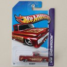 Hot Wheels 2013 HW Showroom '62 Chevy (red)