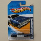 Hot Wheels 2012 HW Main Street '64 Lincoln Continental (blue)