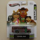 Hot Wheels 2013 Retro Entertainment The Muppets School Bus